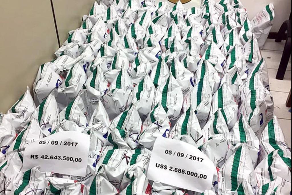 PF contabiliza R$ 51 milhes no bunker de Geddel