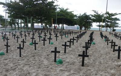 Movimento Abril Verde: o Brasil vive um morticínio silencioso